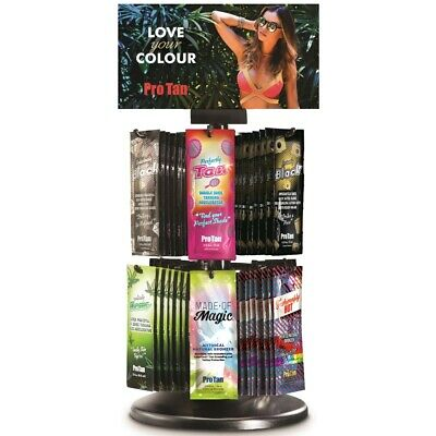 Pro Tan Saturnia Rotating Sachet Display Deal 2019 sunbed tanning 144 sachets