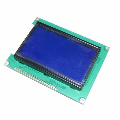 128x64 Blue Graphic LCD Module ST7920 12864B Raspberry Pi Arduino Flux Workshop