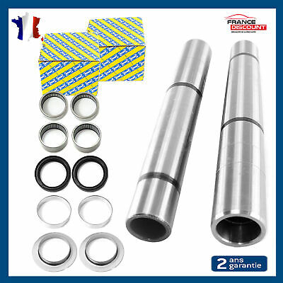 2 Kit Reparation Roulement Snr Bras Train Arriere Peugeot 306 Hdi + 2 Axe Essieu
