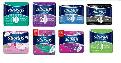 Always Ultra Platinum Sanitary Towel with wings Pads Night Super Normal