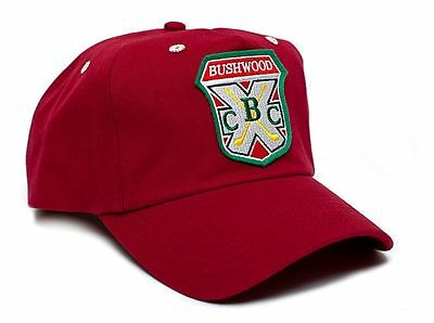 New Embroidered Bushwood Country Club Caddyshack Movie Hat Cap Red Snapback Golf