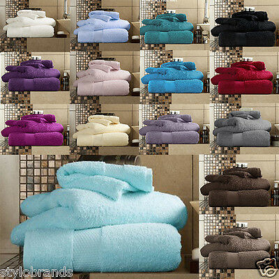 Luxury Egyptian Cotton Towel Sets 700 gsm Hand, Bath, Sheet - 60% off RRP