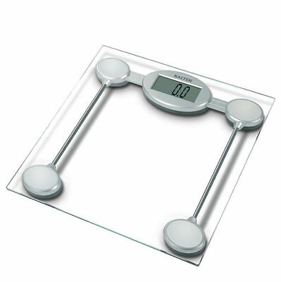 Salter 9018SSV3R Personal bathroom Glass Electronic/Digital Scale - LCD display