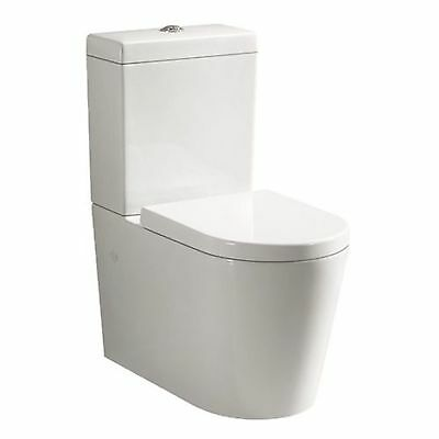 Alzano 002 Back to Wall Faced Toilet Suite, S or P, Back or Bottom Water Entry