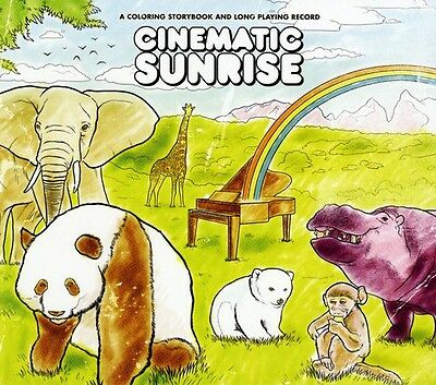 Cinematic Sunrise - Coloring Storybook & Long Playing Record [New CD] O-Card Pac