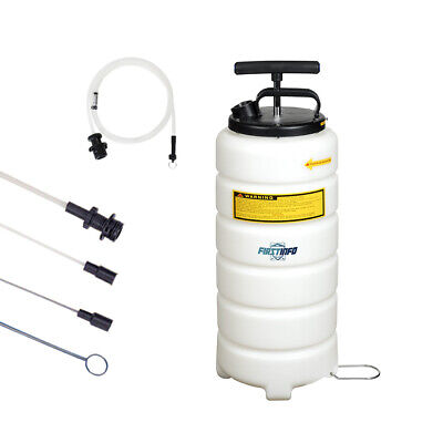 FIT 15L Manual / Hand Operated Oil & Fluid Changer / Extractor Vacuum Pump