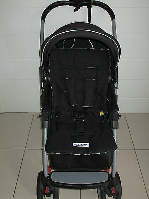 *BLACK*universal stroller,pram,car seat liner set *NEW*