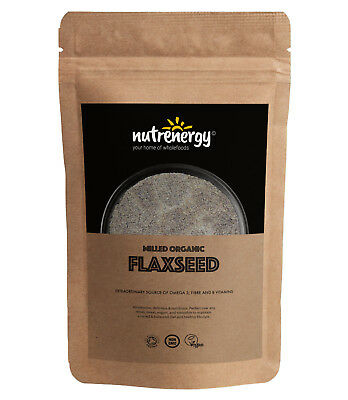 Milled Organic Flax Seeds | Free Tracked Delivery