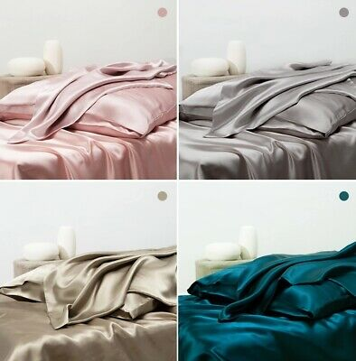 Carlty's 100% Pure Mulberry Silk Pillowcase 25 Momme.(Envelope Open)(11 Colours)