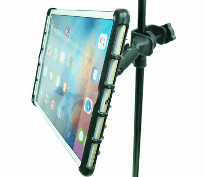 BuyBits Music / Microphone Stand Tablet Clamp Mount Holder for iPad Pro 12.9""
