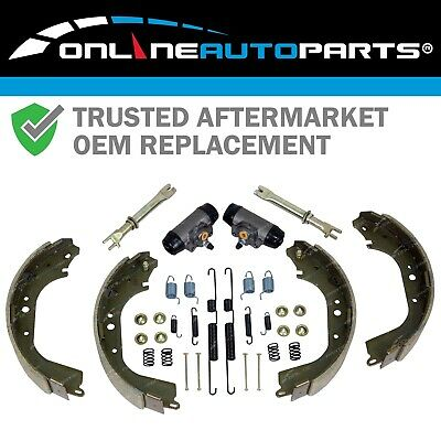 Rear Brake Shoes Wheel Cylinders Major Kit Landcruiser FZJ75 HJ75 1984 to 1999