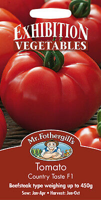 Mr Fothergills Tomato Country Taste F1 Exhibition Vegetables Seed