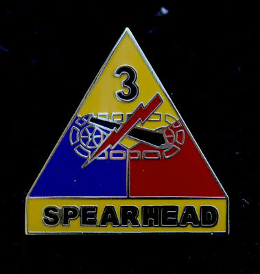 3Rd Armored Division Hat Lapel Pin Up Us Army Veteran Quilt Gitf Elvis Presley