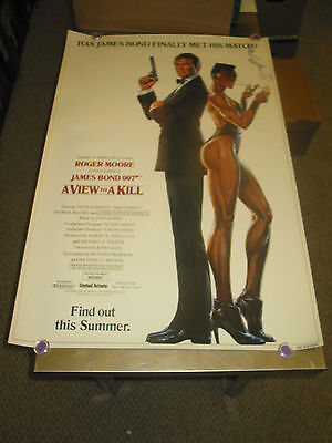 A View To A Kill /or. U.s. One Sheet Tsr Movie Poster A(James Bond/roger Moore)