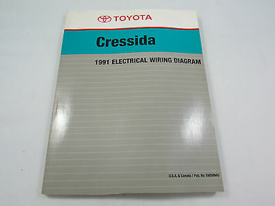 1991 toyota cressida owner s manual • cad 32 86 picclick ca 1991 toyota cressida factory electrical wiring diagram service manual oem book