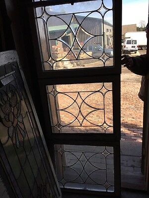 Sg 455 Three Available Price Each Antique Beveled Center Windows