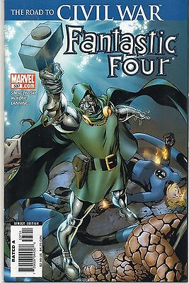 Fantastic Four #537-1St Print-Road To The Civil War-Thor Hammer-Lot Of 10 Copies