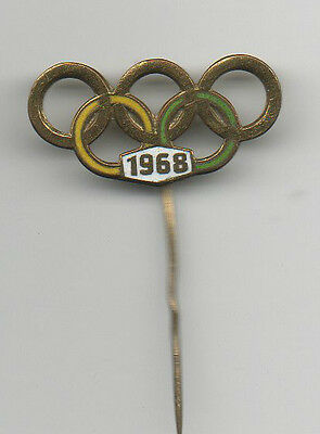 Orig.pin    XIX.Olympic Games MEXICO 1968  -  Special Edition  !!  VERY RARE