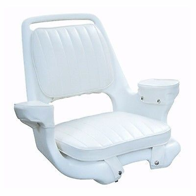 """Wise WD1007-3-710 Extra Wide Captain's Chair 21x17-1/2x24"""" Arm Rest Marine MD"""