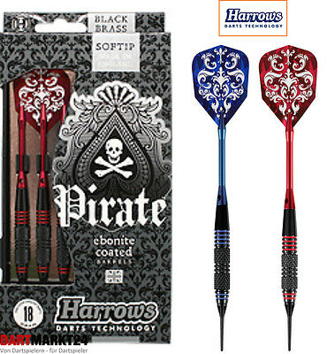 Softdart Set Harrows Pirate 16G Oder 18G Blau Oder Rot Dart