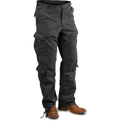 "Black Medium Vintage Paratrooper Fatigue Pants (31""-35"")"