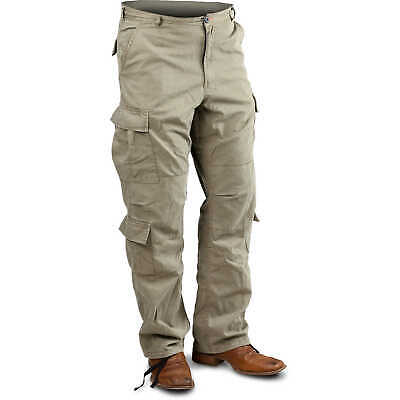 "Khaki Large Vintage Paratrooper Fatigue Pants (35""-39"")"
