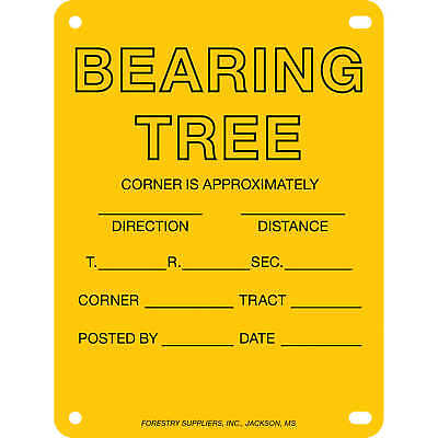 "Aluminum Bearing Tree Poster 4"" x 6"" Pack of 100"