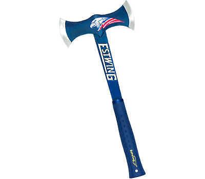 Estwing Black Eagle Blue Double Bit Axe