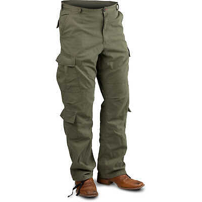 "Olive Drab, Medium Vintage Paratrooper Fatigue Pants, (31""-35"")"