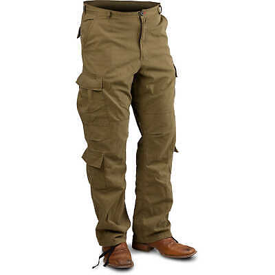 "Russet Brown Large Vintage Paratrooper Fatigue Pants (35""-39"")"