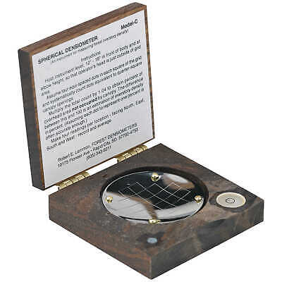 Forestry Suppliers Spherical Crown Densiometer Concave Model C