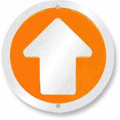 Trailite Arrow Markers Orange Reflective Pack of 100