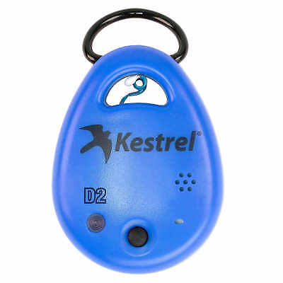 Kestrel DROP D2 Temperature RH Heat Index Dew Point Data Logger Blue