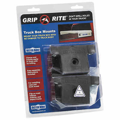 Better Built Grip Rite No-Drill Truck Tool Box Mounting System