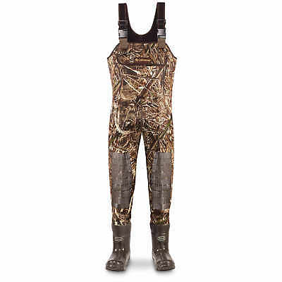LaCrosse Super Brush Tuff Chest Waders, Size 10