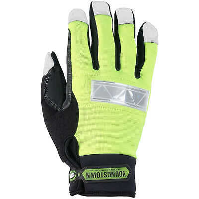 Youngstown Safety Lime Waterproof Winter Gloves X-Large