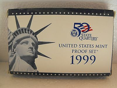 1999-S  United States Mint Proof 9 Coin Clad Set