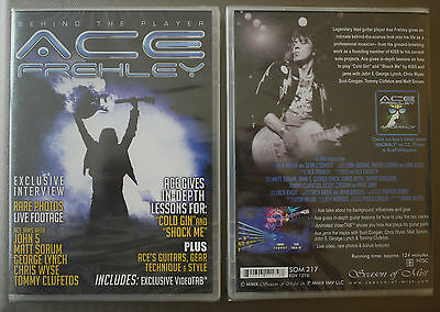 """Ace Frehley """"Behind the player"""" DVD NEW sealed"""