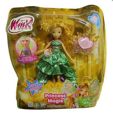 Winx Club Princess Magic Doll Flora New