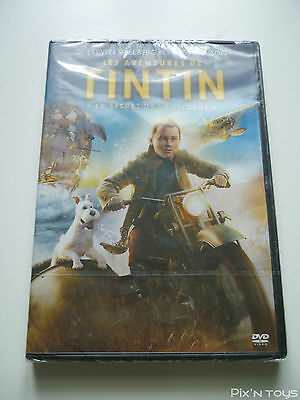 DVD Tintin Le secret de la licorne [ Pal Version Zone 2 ]