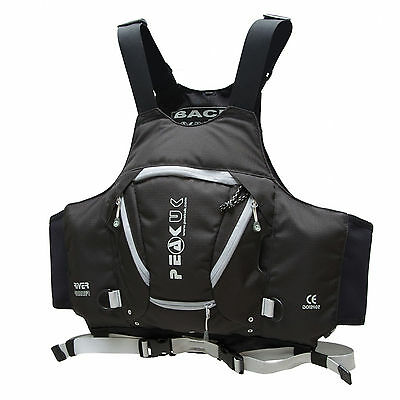 Peak UK River Runner Buoyancy Aid / BA / PFD Ideal for Canoe Kayak Whitewater