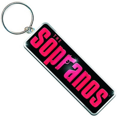 The Sopranos Key Ring / Fob (Metal 100% Official Merchandise)