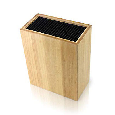 Grunwerg Universal Kitchen Knife Block Storage Block Wooden Block 20 Knives