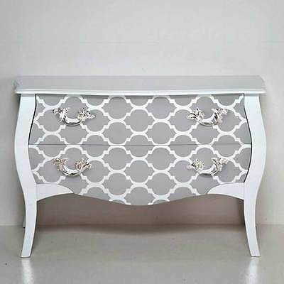 Casablanca Craft Stencil - MEDIUM - Stencils for Furniture, Pillow, and Fabric!
