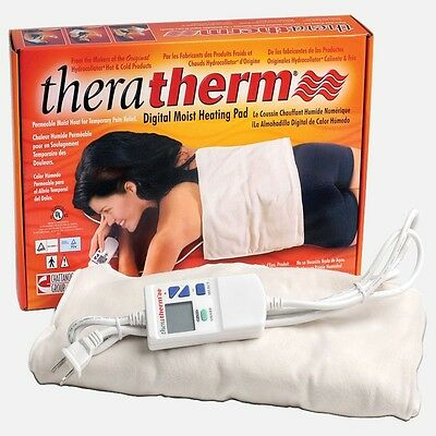NEW Chattanooga Theratherm Digital Moist Heating Pad Blanket - SELECT ALL SIZES