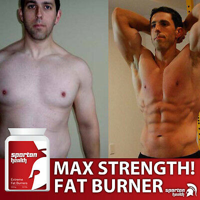 Spartan Health Fat Burn Pills Diet Increase Weight Loss Bodybuilding Proven