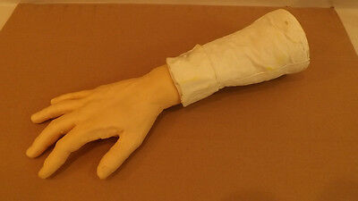 NOS Vtg Vic's Wigglin Hand w/Shirt Sleeve/Cuff Battery Operated Vibrating Action