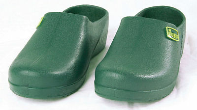 New Briers Green Garden Clogs UK Size 9 Ladies Or Gents Gardening Shoes