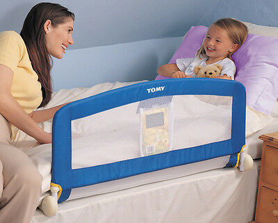 Tomy The First Years Universal Bed Rail - Blue - Bed Guard