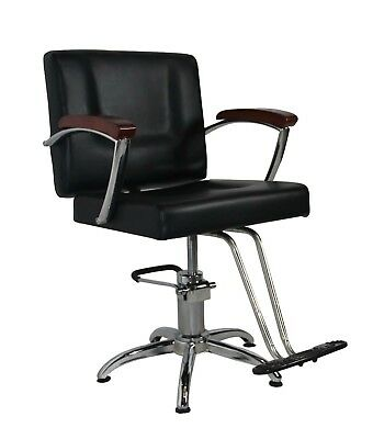Salon Cutting Hairdressing Chair Hydraulic Lift Styling Colour Barber Furniture